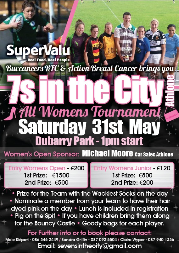 '7s in the city' poster