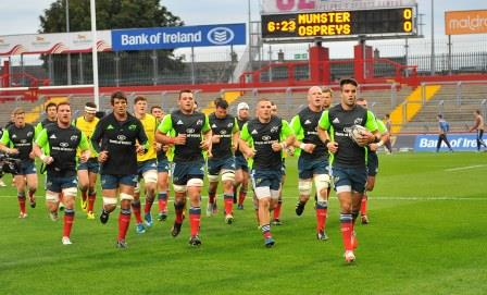 2 Munster squad running