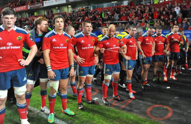 disappointed Munster