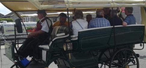 Fergal in carriage