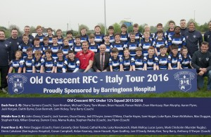 Old Crescent RFC - Under 12's Italy Tour 2016