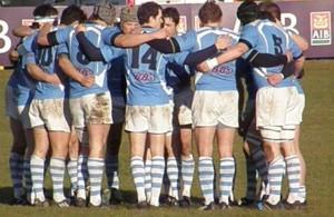 Garryowen huddle