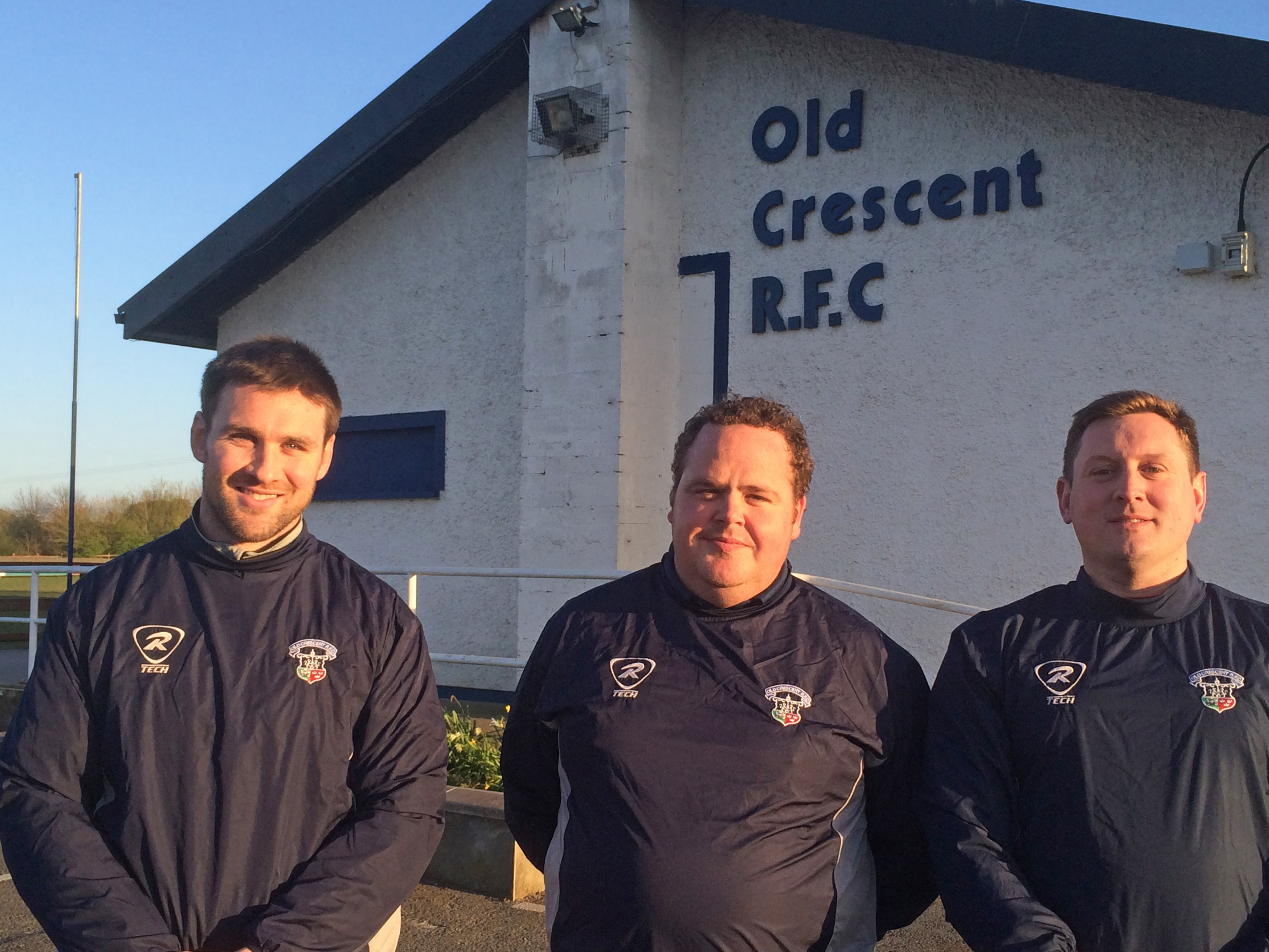 Old Crescent RFC senior rugby management team, 2014-15