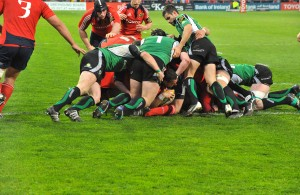 Connacht scrum v Munster