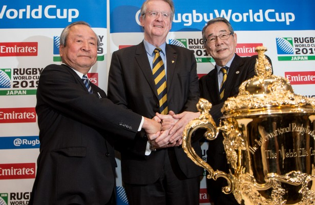 Announcement Of Venues For 2019 Japan Rugby World Cup 2/3/2015